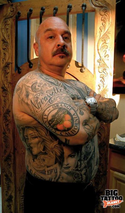 jose lopez  king  black grey colour tattoo