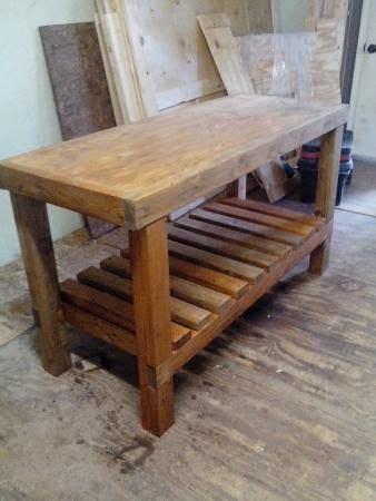 easy garage wood shop work table plans  fast  build