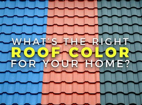 What's The Right Roof Color For Your Home? How To Build A Porch Roof Frame Uk Red Virginia Beach Norfolk Best Metal Roofing Asheville Pitched Construction Killing Moss On Shingles Inn Tillmans Corner Alabama Much Change Tiles Fiddler The Songs Tradition