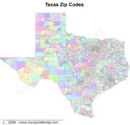 Texas Zip Code Map