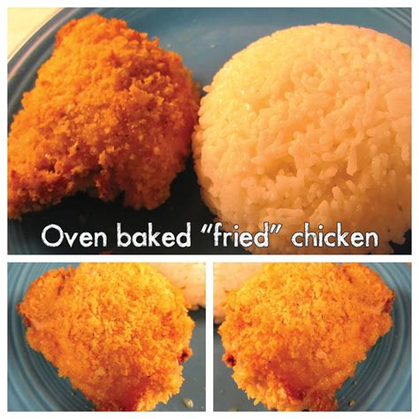 baked fried chicken oven baked fried chicken mommysavers