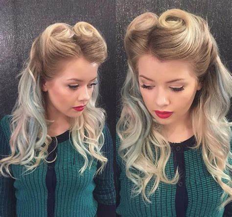 24+ Pin Up Hairstyle Designs Ideas For Long Hair Design