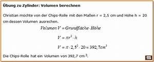 Volumen Einer Kugel Berechnen : zylinder berechnen online zylinder volumen oberfl che mantelfl che ~ Themetempest.com Abrechnung