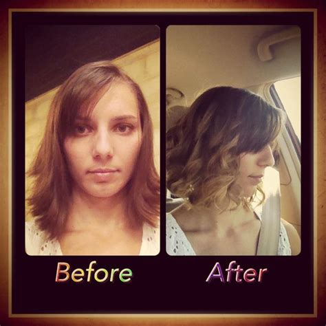 Before And After To Brown by Brown To Ombr 233 Before And After Hair By