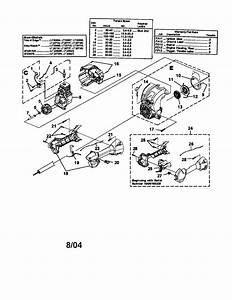 Homelite Ut20826r Gas Line Trimmer Parts
