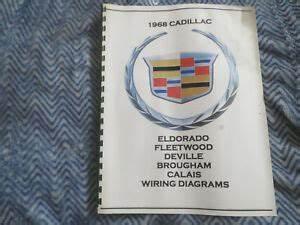 1968 Cadillac Shop Wiring Diagram