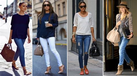 Outfits con Jeans - Tendencias de Moda 2017 2018 - YouTube