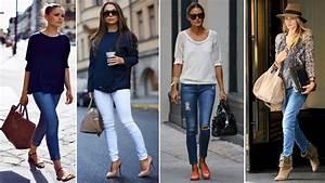 Outfits con Jeans - Tendencias de Moda 2017 2018 - YouTube