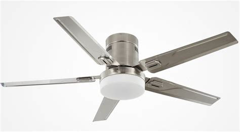 quietest ceiling fans with lights simple design ceiling fan with light silver color