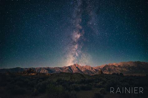 Rainier Milky Way Astrophotography Lonely Speck Lightroom