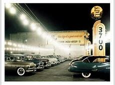 This vintage car dealership and auto shop can be compared