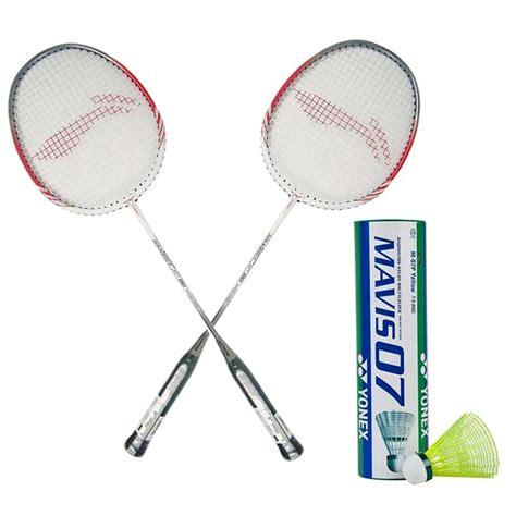 Set of 2 Li Ning Smash XP 80 Badminton Racket Set - Buy