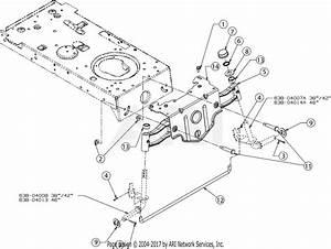 Troy Bilt 13wx79bt011 Horse  2017  Parts Diagram For Pivot