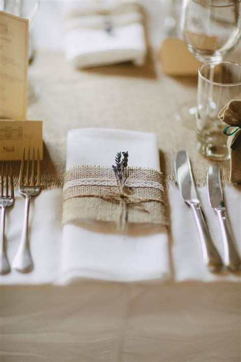 elegant   incorporate burlap   wedding