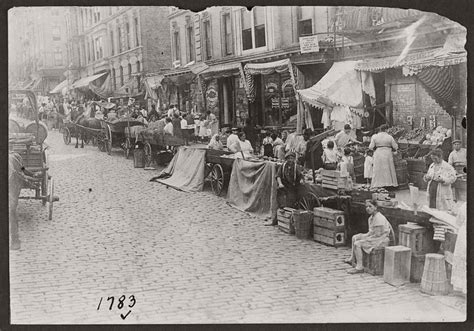 early cuisine vintage pushcart markets in york early 20th century