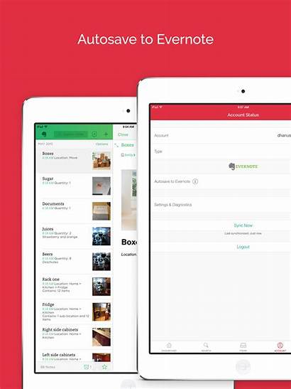 Sortly Evernote Ipad App Overview Center