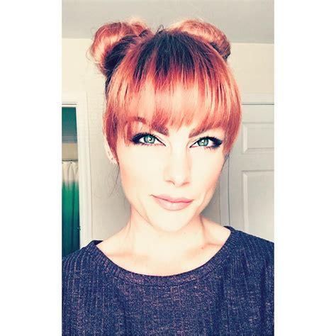 hairstyles  long bangs  instagram