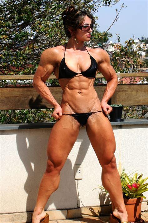 Very Hot Brazilian Fitness Model Diana Tyuleneva Muscle