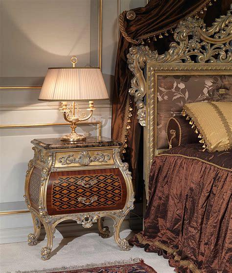 Classic Emperador Gold In Louis Xv Style Bedroom