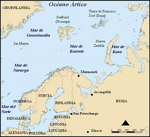 Pin Map-of-barents-sea on Pinterest