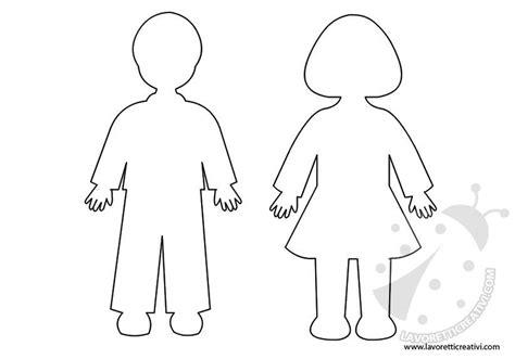 sagome bambini da ritagliare immagini sagome di bambini da ritagliare