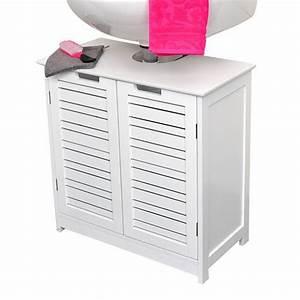 Meuble Dessous De Lavabo : meuble dessous lavabo cosy blanc dessous lavabo eminza ~ Melissatoandfro.com Idées de Décoration