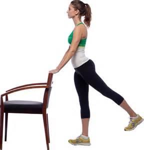 chair leg lifts gentle prenatal workout peanut butter fingers