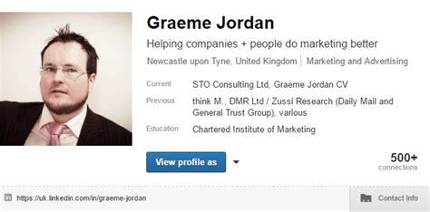professional social media profile writing linkedin for