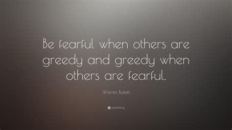 warren buffett quote  fearful    greedy