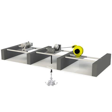 Chandelier Hoists by Chandelier Hoist System Configuration C
