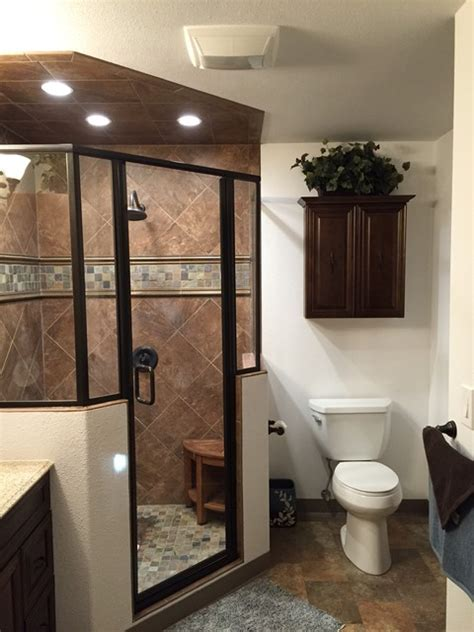 master bedroom closet conversion into master bathroom