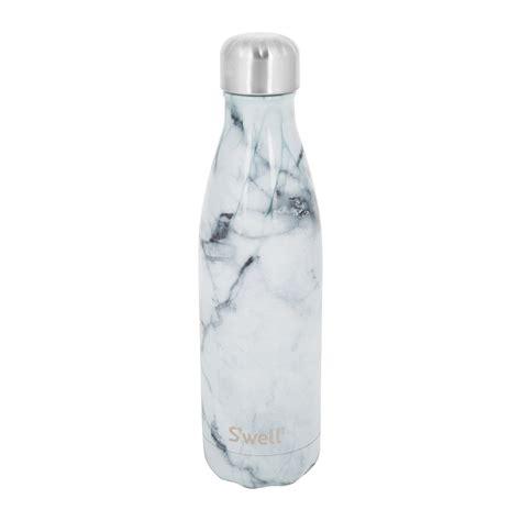 1658 white marble swell bottle buy s well the element bottle white marble 0 5l amara