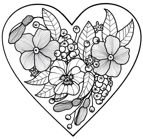 love adult coloring page favecraftscom