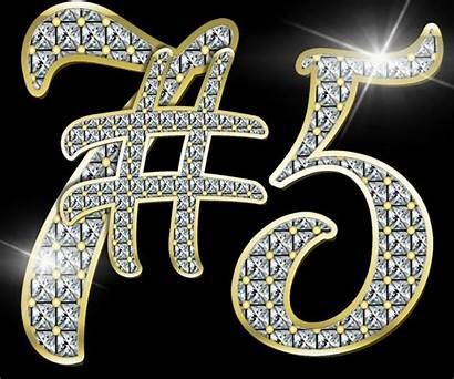 Diamond Clip Numbers Clipart Gem Symbols Commercial