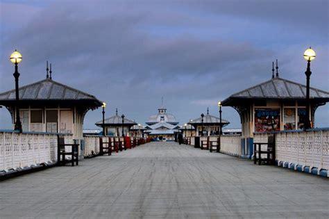 night fishing  llandudno pier   scrapped daily post