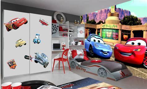 deco chambre high disney cars 2 poster papier peint 360x254 cm