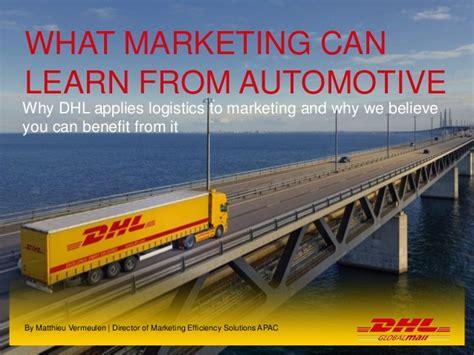 introduction  marketing logistics  dhl