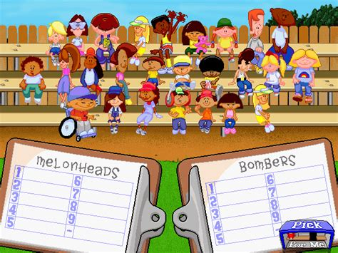 Backyard Football Characters - backyard baseball windows my abandonware