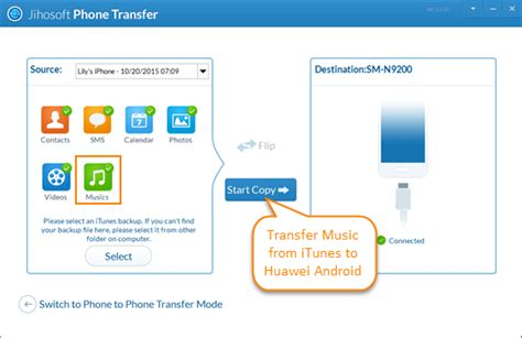 how to transfer songs from iphone to itunes how to transfer from itunes to huawei android phone