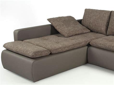 Ecksofa Sunrise 259x201cm Braunbeige Schlamm Couch Sofa