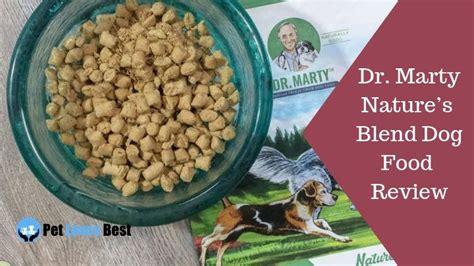 dr marty natures blend dog food review  verdict
