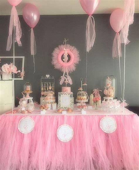 anniversaire d 233 coration danse ballerine ballet τούρτα frozen babyshower