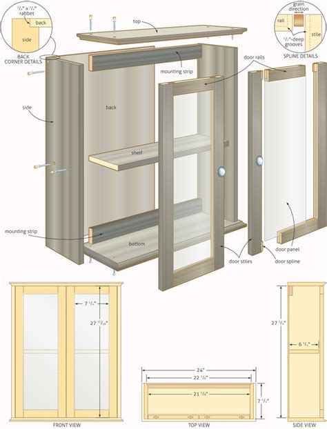 Design My Own Bathroom Free by Free Woodworking Plans Bathroom Cabinets