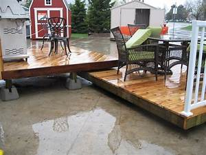 Steps on How to Build a Floating Deck - The Basic Woodworking