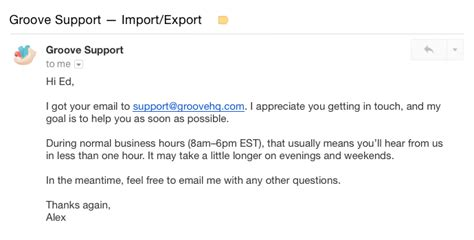 Customer Support Email Template by How A Small Touch Can Turn A Bad Customer Experience Around