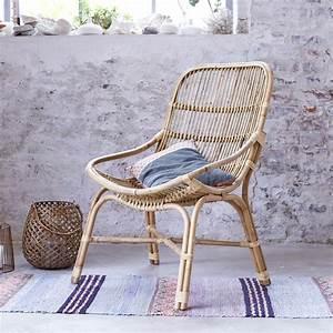 Fauteuil Ikea Rotin : fauteuil en rotin et osier pas cher chaise exotique tikamoon ~ Teatrodelosmanantiales.com Idées de Décoration