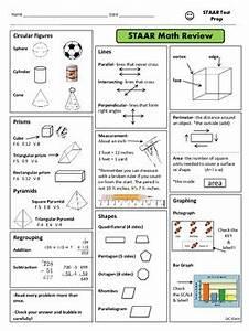 3rd Grade Math Staar Study Guide By Dc Klein