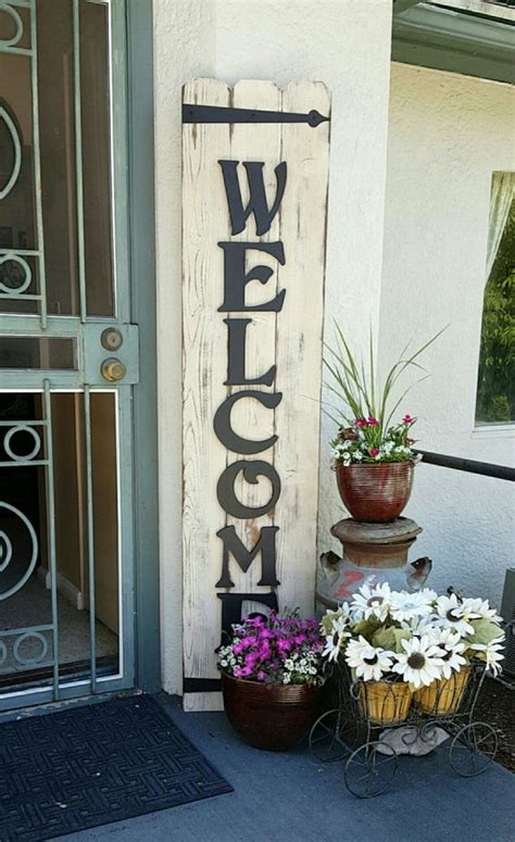 awesome front porch signs   welcoming home