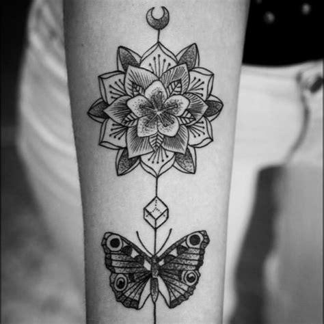 mandala butterfly tattoo tumblr