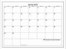 Calendari aprile 2019 LD Michel Zbinden IT